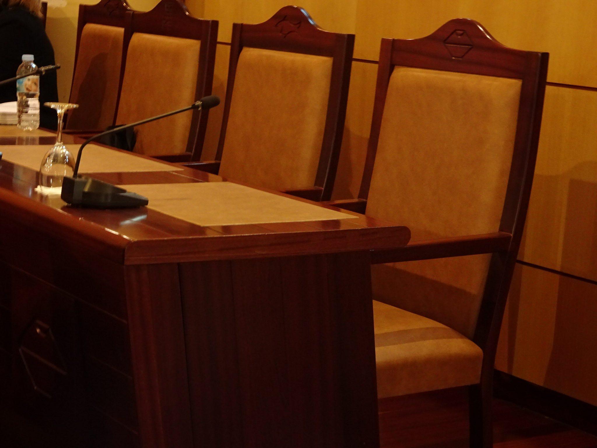Salón de plenos del Ayuntamiento de Candelaria / DA