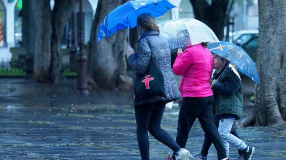 El invierno llega perezoso: después de la primera nevada, viene un frente de lluvias