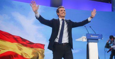 """Pablo Casado alerta contra los """"imitadores"""" del Partido Popular"""