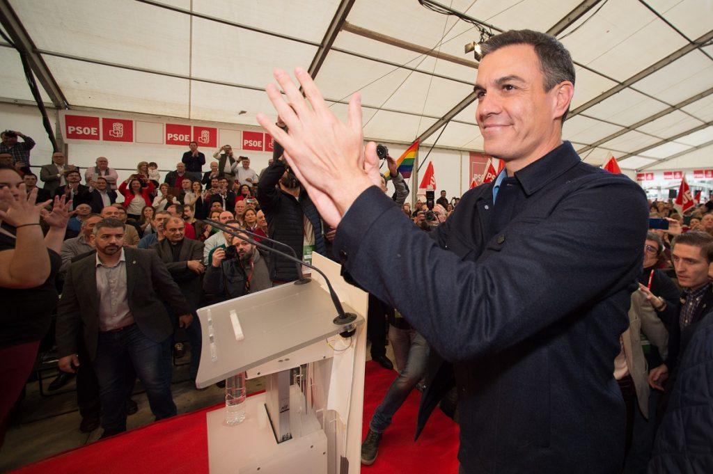 El presidente del Gobierno Pedro Sánchez en Murcia. | EP