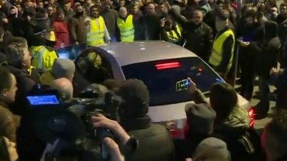 La 'guerra' de taxis crea un grave problema de seguridad para la inauguración de Fitur