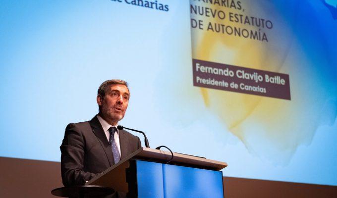 """Clavijo ve """"voluntad de corregir"""" los Presupuestos Generales del Estado y pacta una 'cumbre' con Batet y Montero"""