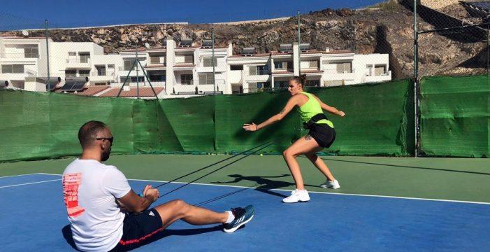 Plíšková, que eliminó a Serena Williams, una asidua de Tenerife