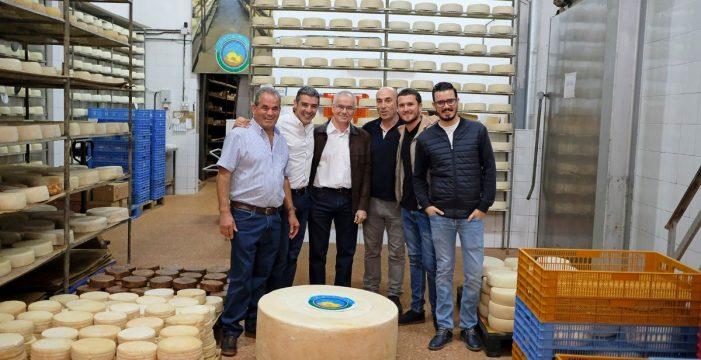 Sal y pimienta: Un queso de Gran Canaria de 174 kilos