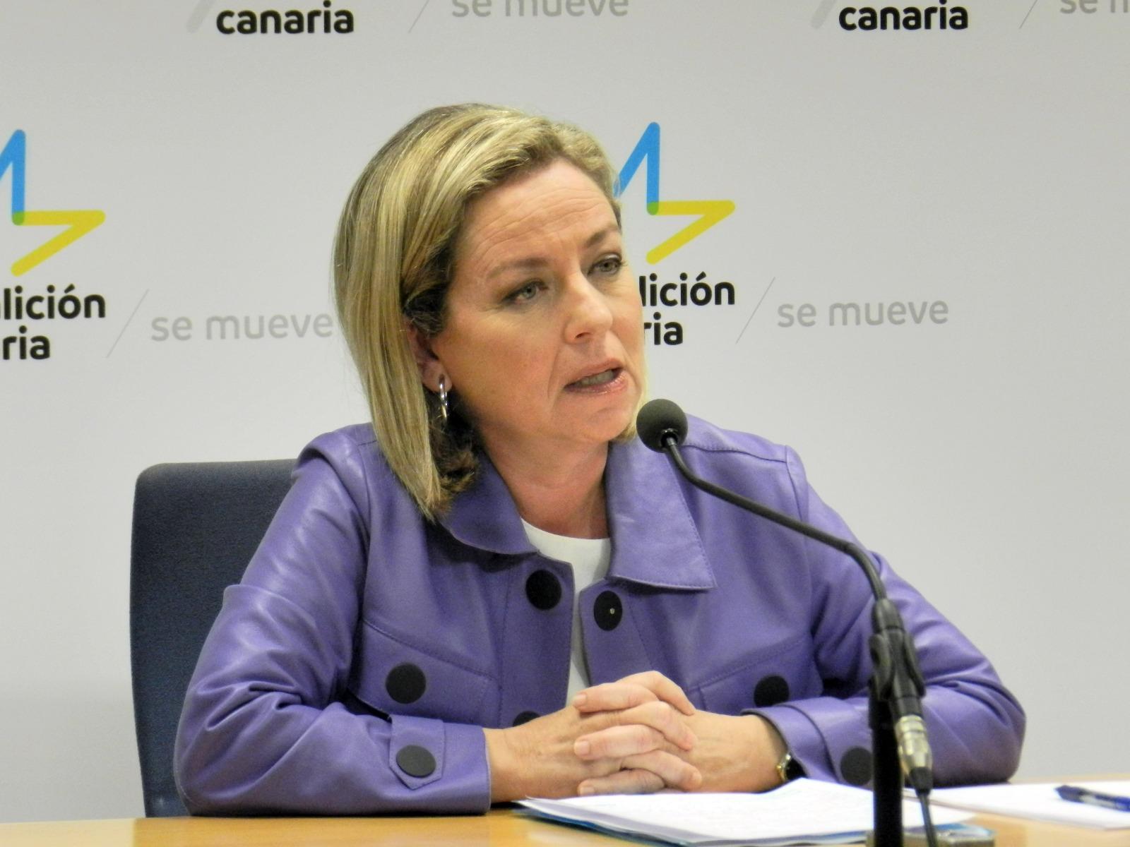 Ana Oramas, diputada de Coalición Canaria en el Congreso. / DA