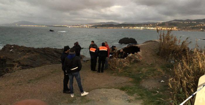 Encuentran el cadáver calcinado de una persona en la costa de Ceuta