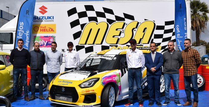 Manolo Mesa presenta el Suzuki Swift Sport N5 R+
