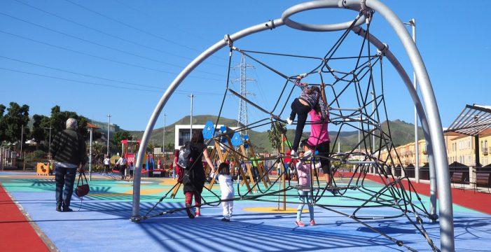 Abre el parque urbano de Las Mantecas, el más grande de La Laguna