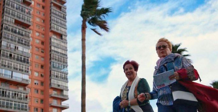 Las rachas de viento de más de 75 km/h se mantendrán hasta el miércoles en Canarias