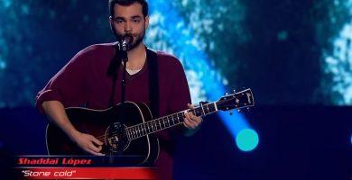 Un tinerfeño consigue pleno en La Voz con su magnífica actuación