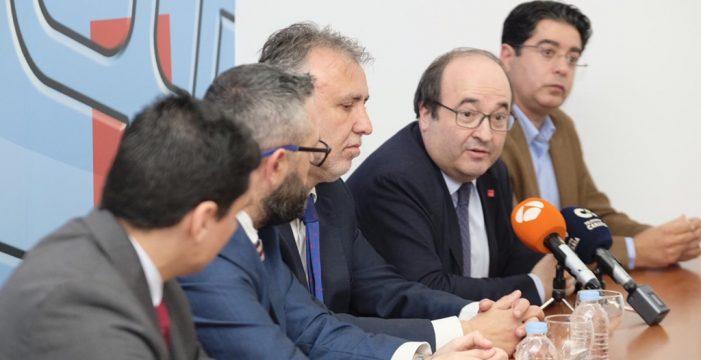 """Miquel Iceta, con las negociaciones Gobierno-independentistas catalanes rotas: """"Sin diálogo, no hay política"""""""