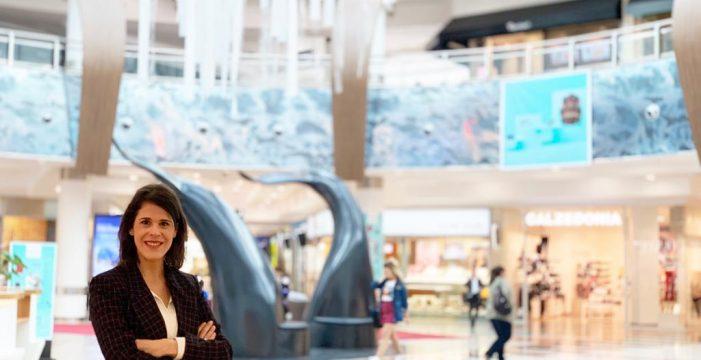La tinerfeña María Hernández, nueva directora del Centro Comercial Meridiano