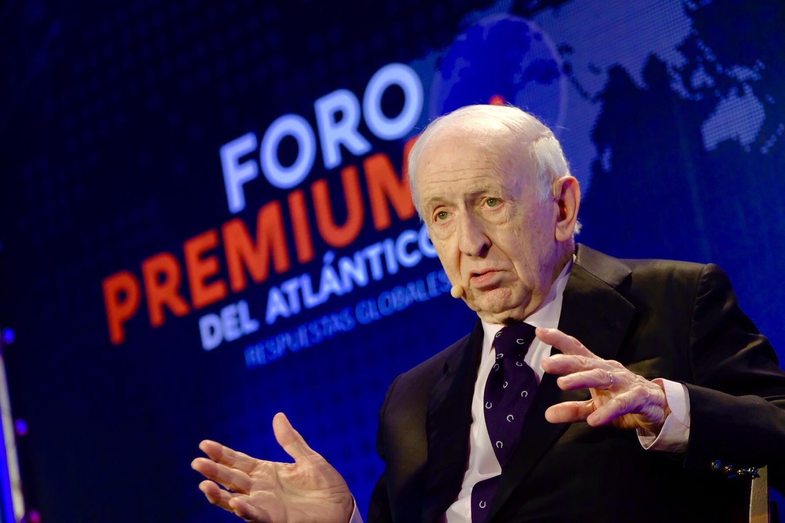 Leopoldo Abadía en el Foro Premium del Atlántico