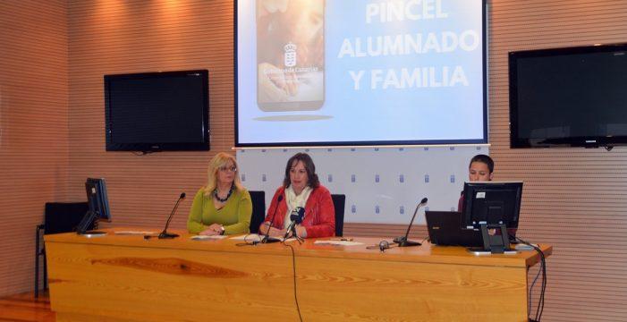 Las familias canarias podrán acceder a la información educativa a través del móvil