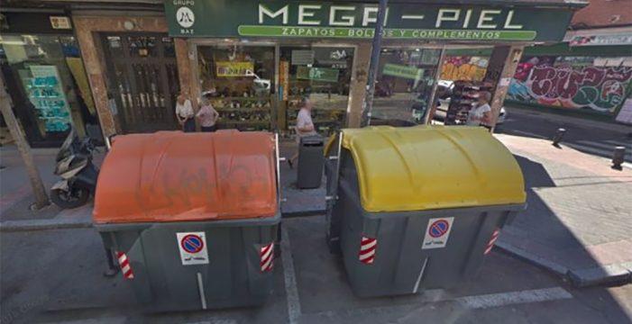 Hallan el cadáver de un bebé dentro de un contenedor de basura en Madrid