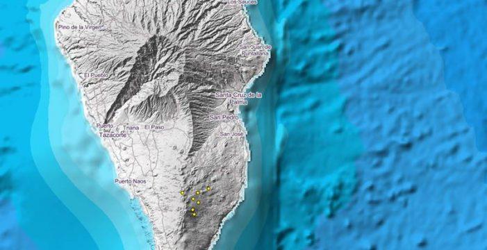 El IGN registra un pequeño enjambre sísmico en La Palma