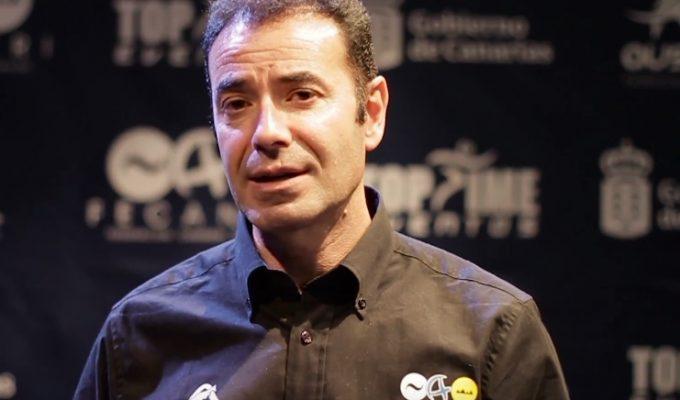 Hablamos con Juan Carlos Serrano, presidente de la Federación Canaria de Triatlón