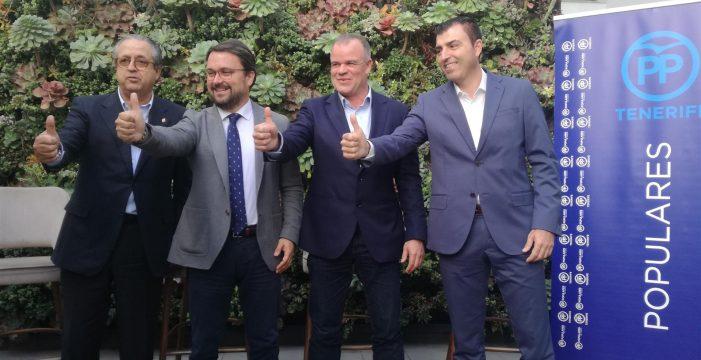 Manolo Gómez, candidato del PP a la Alcaldía de La Laguna