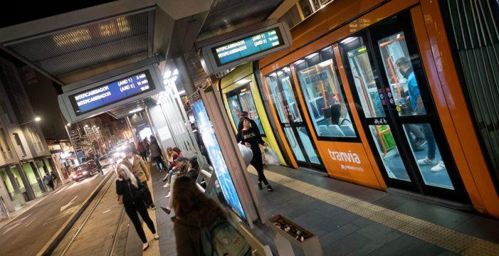 El personal del tranvía hará huelga indefinida a partir del 1 de abril