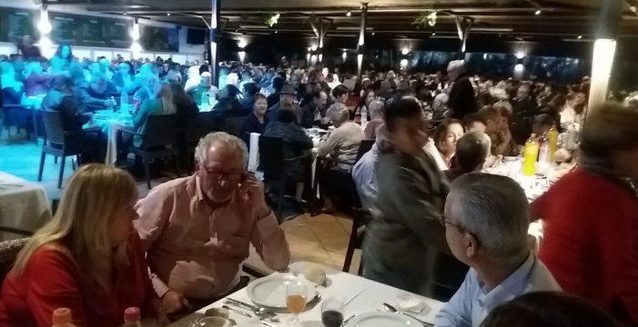 Casimiro Curbelo reúne a 750 gomeros en el Sur y prepara otro acto en el área metropolitana