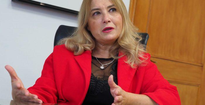 """Pino de León: """"Estoy convencida de que los 25 millones de euros del convenio se han utilizado para Las Chumberas"""""""
