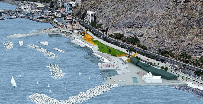 Un paseo peatonal unirá la avenida de Anaga y la playa de Valleseco