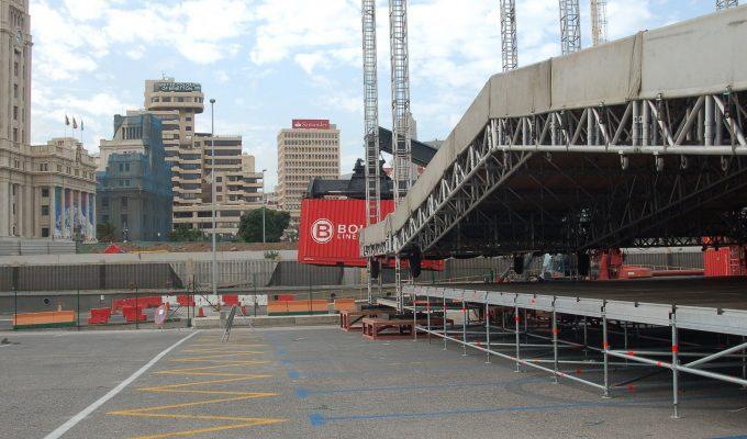 Santa Cruz estudia recuperar en Carnaval la zona de aparcamiento dentro del puerto