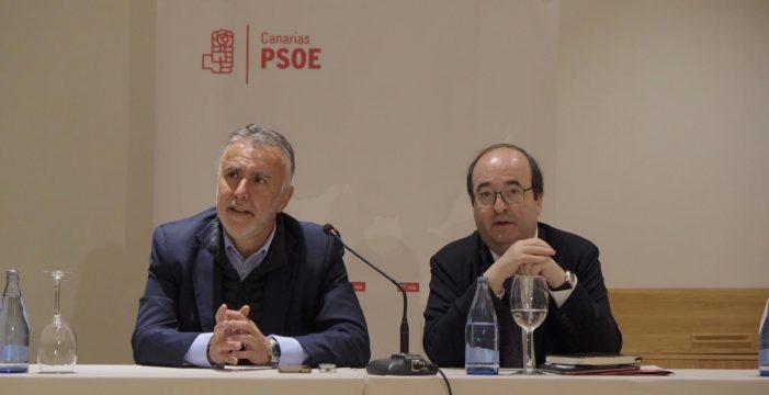 """El PSOE critica la """"duda inaceptable"""" de CC sobre la Justicia por el caso Grúas"""
