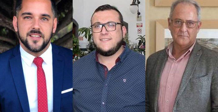 Tres hombres para encabezar la candidatura del PSOE en Santa Cruz de La Palma