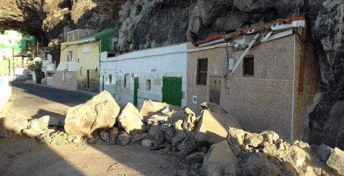 Güímar decide asegurar el talud de Santa Lucía con medio millón de fondos propios
