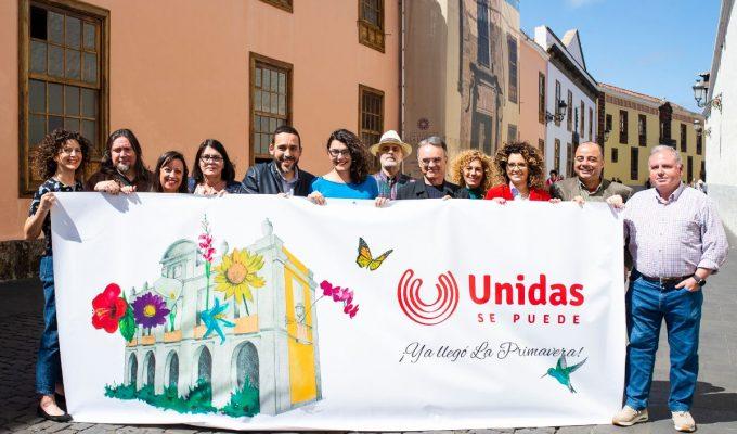 Rubens Ascanio, candidato otra vez de Unidas se puede a la Alcaldía de La Laguna