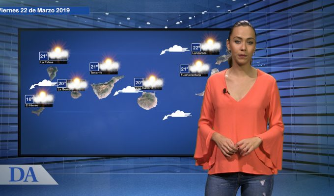 La previsión del tiempo en Canarias para el viernes, 22 de marzo