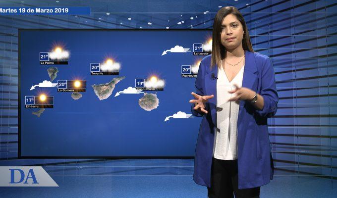 La previsión del tiempo en Canarias para el martes, 19 de marzo