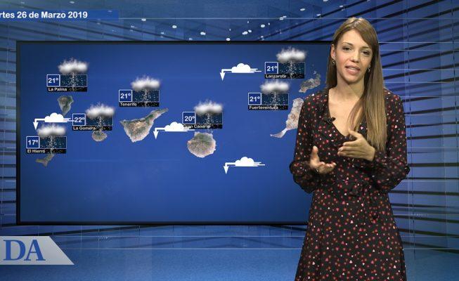 La previsión del tiempo en Canarias para el martes, 26 de marzo