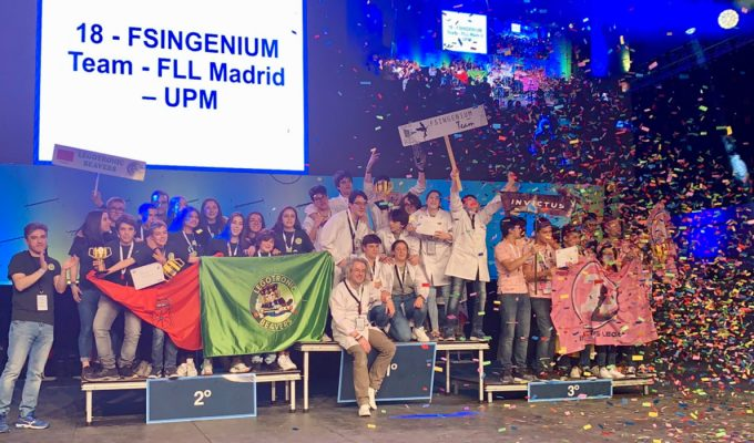 Fsingenium Team, Legotronic Beavers e Invictus Lego, campeones de la Gran Final FLL España 2019