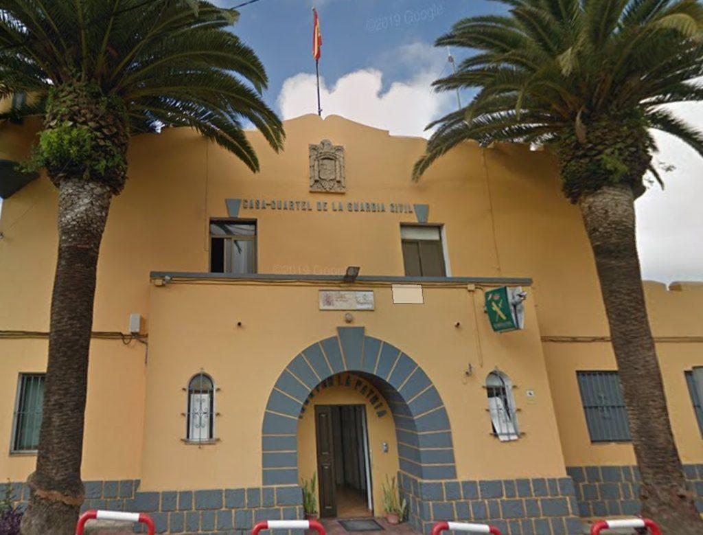 Fachada de la Casa Cuartel de la Guardia Civil en Tacoronte| DA
