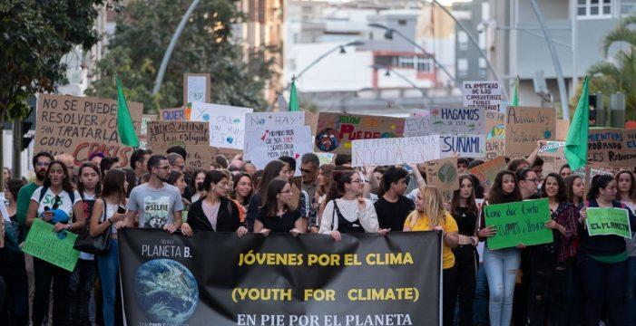 Los jóvenes claman por un futuro mejor para el planeta