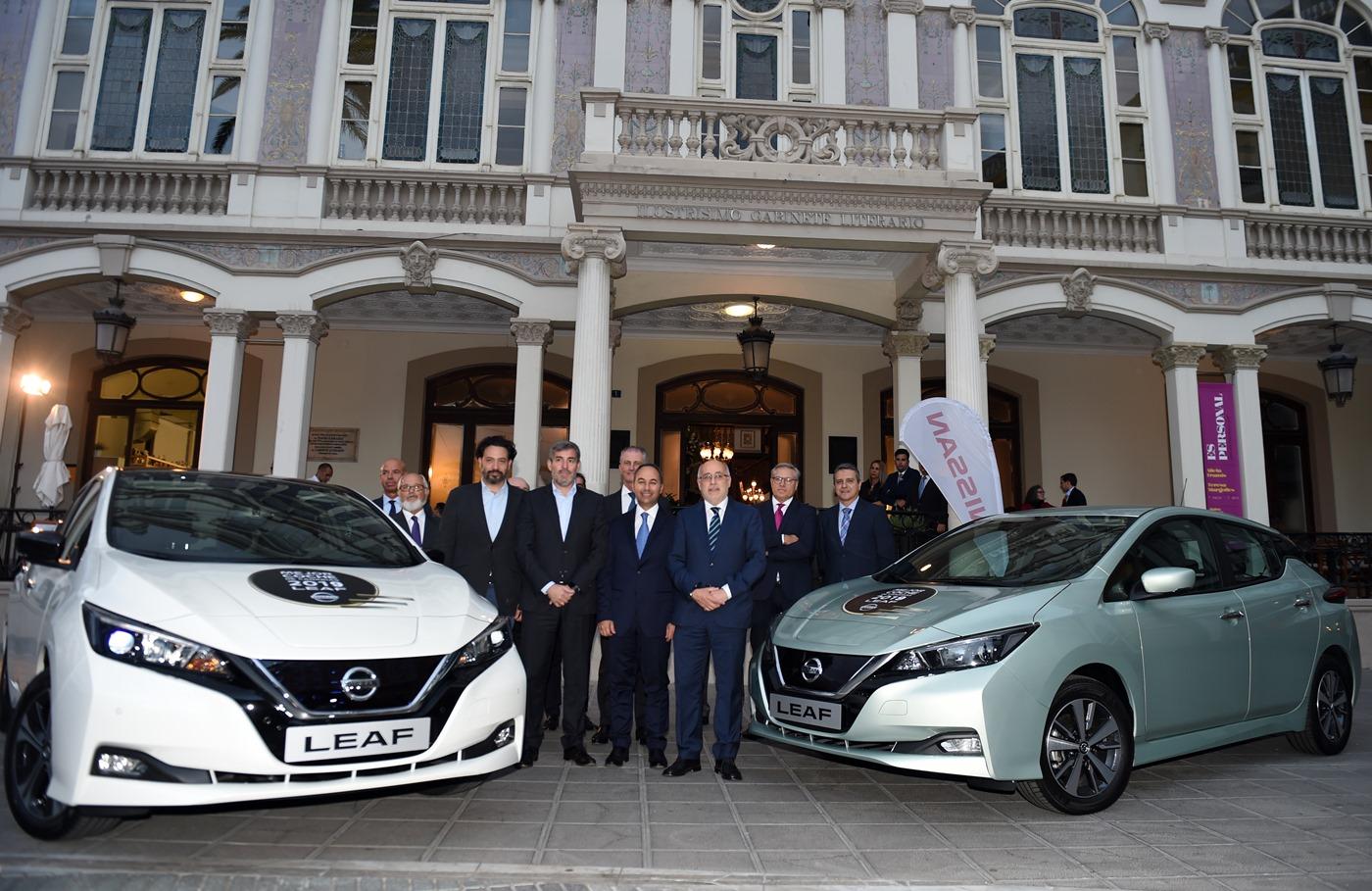 Nissan Leaf Mejor Coche de Canarias 2019. |DA