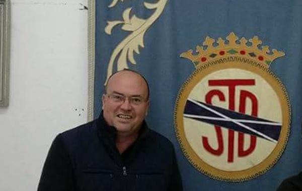 José Domingo García, presidente de la SD Tenisca  SDT