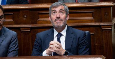 Intervención de Fernando Clavijo en el parlamento por el caso grúas