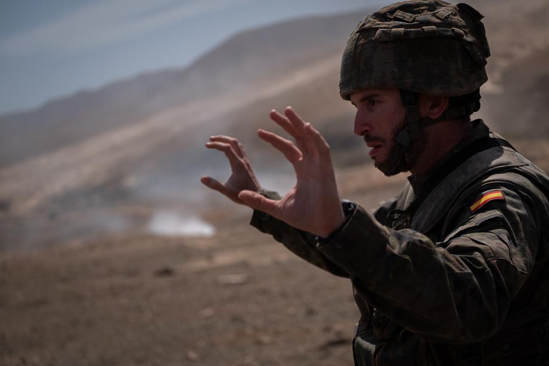 Los militares entrenan para su próxima intervención en Oriente Medio| FRAN PALLERO