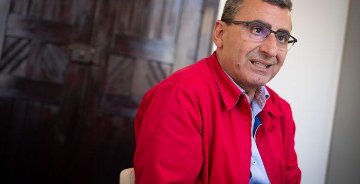 """Javier Abreu: """"En Las Chumberas y en El Cardonal  hay una alarma de seguridad; no lo  digo yo, lo dicen los técnicos"""""""