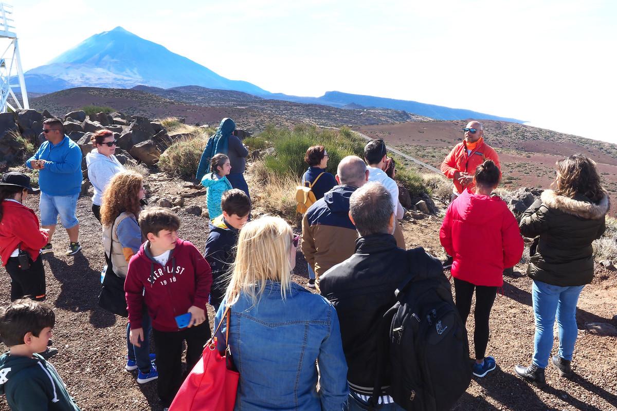 Volcano Teide en familia
