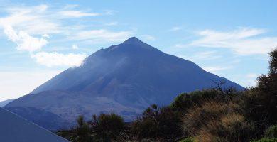 """El Teide no es un volcán español visitable, por lo visto """"el único está en Castilla la Mancha"""""""