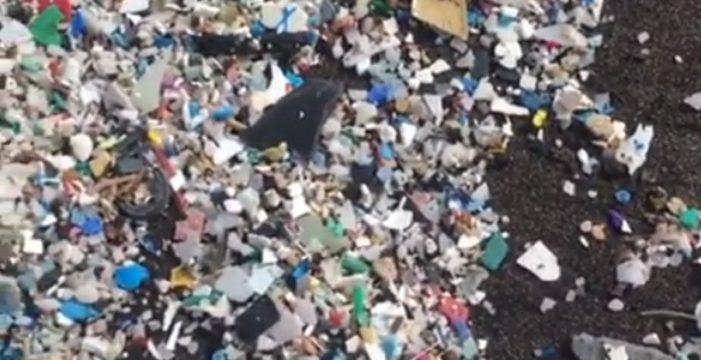 Constatan la contaminación por plásticos en ocho playas de Tenerife