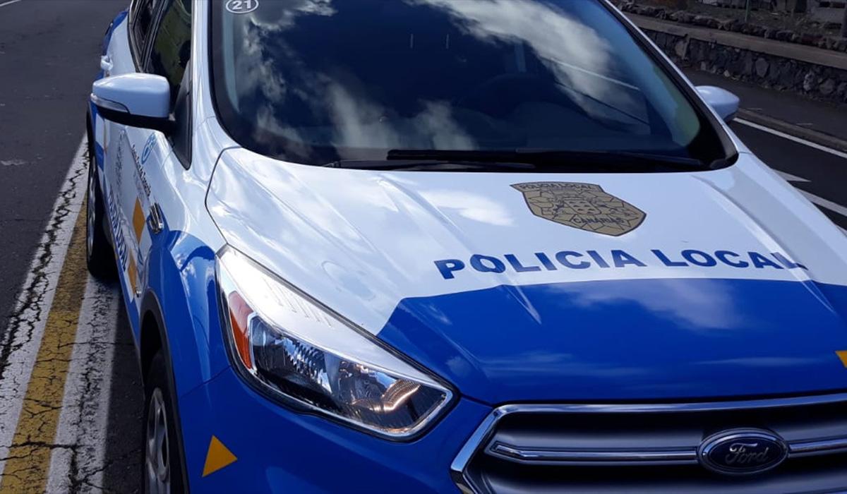 COCHE POLICÍA LOCAL SANTA CRUZ
