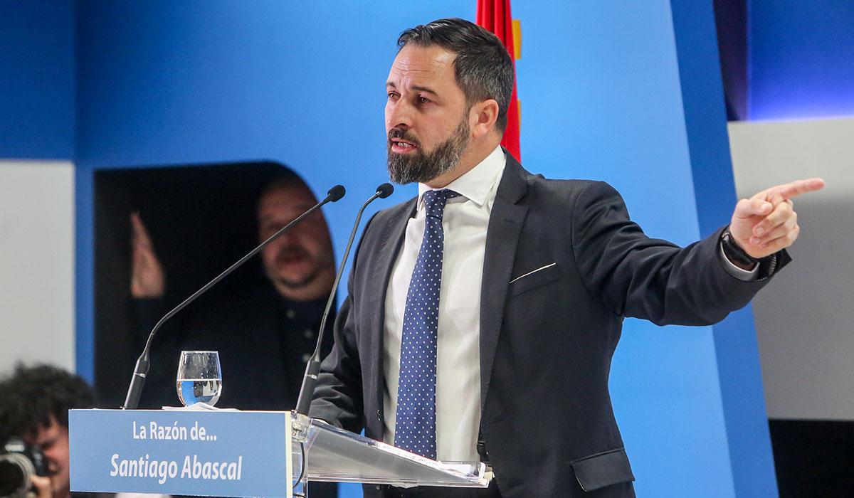 Santiago Abascal. | EUROPA PRESS