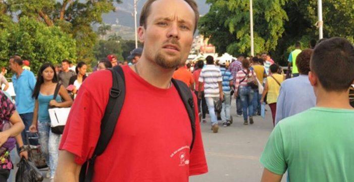 Liberan al periodista Billy Six tras más de cuatro meses preso en Venezuela