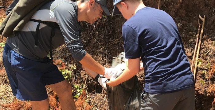 El reto viral mundial en favor del medio ambiente que tiene su germen en La Palma