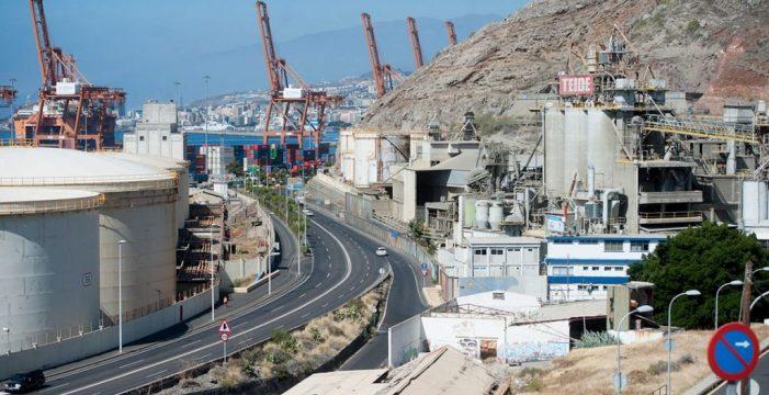 Puertos de Tenerife invierte más de un millón de euros en los taludes de la carretera de San Andrés